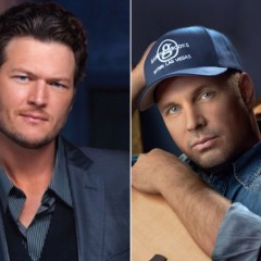 Blake Shelton Has A Bone To Pick With Garth Brooks