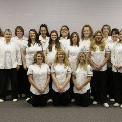 Ozarka College caps and pins nursing graduates