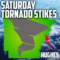 Tornado Strikes Arkansas Saturday at Hughes; Three People Injured